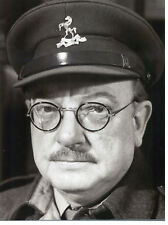 ARTHUR LOWE CAPTAIN MAINWARING DADS ARMY HUGE 24 X 16  PHOTO
