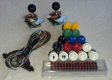 Jamma, mame, arcade kit: 2 Sanwa joysticks, 16 Happ buttons, 1 jamma cable