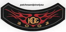 Harley Davidson HOG Harley Owners Group 2002 Patch New! FREE U.K. POSTAGE!