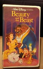 Beauty and the Beast RARE*BLACK DIAMOND EDITION (VHS, 1992)