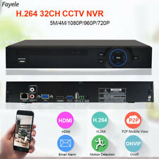 CCTV 32CH NVR HD IP 1080P 5MP ONVIF Hi3535 3G WIFI Surveillance Video Recorder