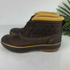 Clarks Outdoor Muckers 3M Thinsulate Insulation size 6M Brown Low Duck Rain Boot