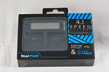 Blumax BLU-90105 Doppel Akku-Ladegerät - Schwarz