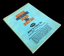 Industrial Photographic Catalog 1964: Equipment and Supplies for Business and .