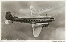Postcard 990 - Aircraft/Aviation Real Photo KLM Douglas DC-3