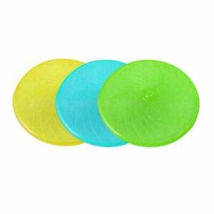 Pet Dog Training Soft Frisbee Throwing,Flying Disc Fetch Silicone Teeth Fun Toy