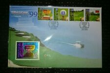 Royal Selangor Premier Pewter Stamp FDC - 1999 Niobium World Cup Golf