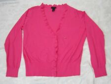 NWT Lane Bryant Pink Cardigan Sweater Size 22/24 Lightweight