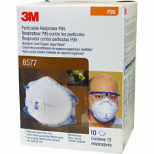 8577 Box of 10, Disposable with Cool Flow, NIOSH, MADE IN USA