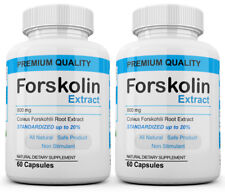 x2 Pure Weight loss Extreme 800mg FORSKOLIN Coleus Forskohlii 20% extract