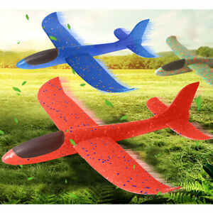 New 2019 DIY Kids Toys Hand Throw Flying Planes Foam Airplane Glider Toy Plane