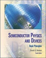 Semiconductor Physics And Devices: Basic Principles by Donald A. Neamen