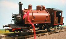 SNCB 2-achs Dampf-Rangierlok Type 50 Sattelt Ep2 Messing Handarb AC dig 1:87 NEU