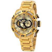 Invicta Speedway Chronograph Gold Dial Men's Watch 25482