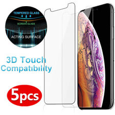 9H Tempered Glass Flim Screen Protector For iPhone XS Max 8 6 7 iPod Touch 5/6th