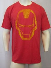 50/50 SOFT MARVEL COMICS AVENGERS IRON MAN CREW NECK T SHIRT SZ XL RED VIC-THOR1