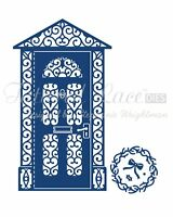 Tattered Lace Dies Front Door & Mini Wreath, TTLD408 ~ RETIRED!