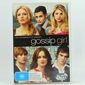 Gossip Girl Season 1 (DVD, 2009, 5-Disc Set) R4 GC Free Tracked Post