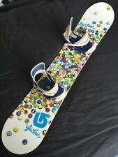 New listing Mint Burton Feather 149cm Snowboard Complete With Solomon Bindings and board bag