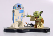 2007 GG Convention Exclusive: Star Wars - Animated Yoda & R2D2 Maquette, NEW