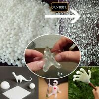 DIY Plastic Polymorph Thermoplastic PCL Moldable Friendly Beads 50g Crafts