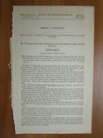 Government Report 3/27/1888 Smith V Campbell Asst. Surgeon 23rd IA Volunteers
