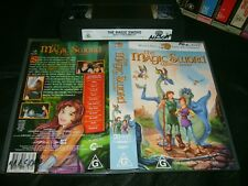 Vhs *THE MAGIC SWORD:THE QUEST FOR CAMELOT* 1998 Warner Bros Family Ent. Issue