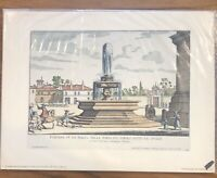 RUDOLF LESCH FINE ARTS PRINT - FOUNTAINS OF ROME - PIAZZZA DELLA