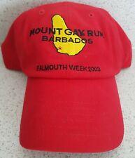 'FALMOUTH WEEK 2003' Cornwall Barbados MOUNT GAY RUM Yacht Sailing BASEBALL CAP