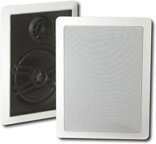 "Open-Box Excellent: Yamaha - Natural Sound 6-1/2"" 3-Way In-Wall Speakers (Pai..."
