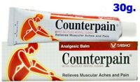 Counterpain Warm Balm Muscle Pain Relief Analgesic Muay Cream Golden Cup 30g