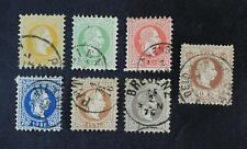 CKStamps: Austria Stamps Collection Scott#27-33 Used
