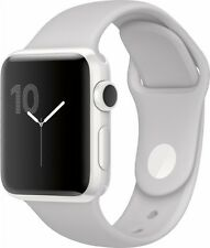 NEW Apple Watch Edition 38mm White Ceramic Case White Sport Band MNPF2LL/A
