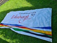 More details for original official edinburgh commonwealth flag 1997 rare
