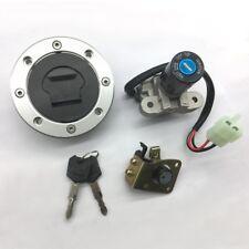 Suzuki GSXR1000 2001-02 SV650 1999-02 Ignition Switch Fuel Gas Cap Seat Lock Key