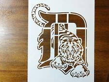 Detroit Tigers Custom Stencil Fast Free Shipping mlb baseball