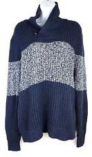Gap Women's Knit Sweater Blue Heather Gray Marled Size Medium NWT