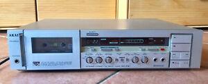 AKAI GX-F51 HI-FI STEREO KASSETTE DECK RECORDER Made in Japan VINTAGE aus 1982