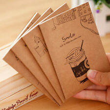 Vintage Journal Diary Notebook Paper Travel Memo Stationery Writng Notepad Jb