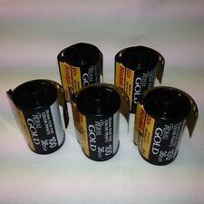 5x Kodak Select Royal Gold 100 Film 135 - 36 Farbfilm KB Foto Photo Lomo FROZEN!