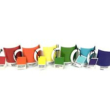 Pantone Coffee Mug Whitbread Wilkinson 10oz Lot of 6 RAINBOW colors