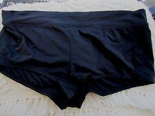 Jaclyn Smith Black Swim Suit Bottoms Size 24W