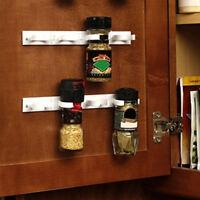 4pcs/Set Cabinet Clip N Store Home Kitchen Organizer Stick Spice Rack E6bF