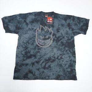 Deadstock VTG Spitfire Tie-Dye Short Sleeve T-Shirt Grey Men's XL Made in USA