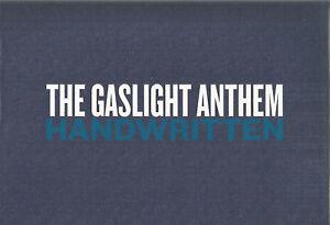 The Gaslight Anthem - Handwritten RARE CD Box Set NEW +Postcards Badges etc.