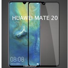 Film de protection intégrale en verre trempé noir pour Huawei mate 20