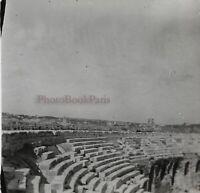 Francia Nîmes I Anfiteatro Interno c1920 Foto Stereo Placca Da Lente VR12hc2