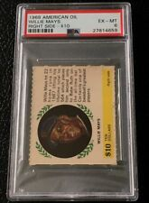 Willie Mays PSA 6 1968 American Oil San Francisco Giants New York Rare Card