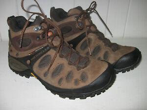 MERRELL Men's Chameleon Evo Mid Gore-Tex WTP Dark Earth Hiking Shoe Sz 10.5