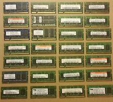27 Piece Lot of PC 3200s 4200s 5300S Laptop Ram Memory (512MB each)